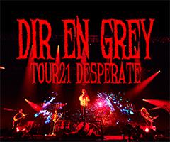 【「aknot」会員限定先着販売】TOUR21 DESPERATE